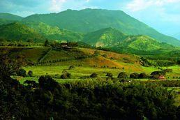 Landschaftsbild in unserem Kolumbien Reiseführer