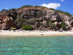 Karibik an der Küste Südamerikas