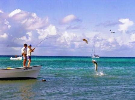 Angeln im Korallenarchipel