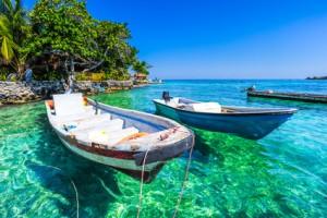 Die Islas Rosarios in Kolumbien