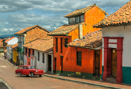 Die Candelaria in Bogota