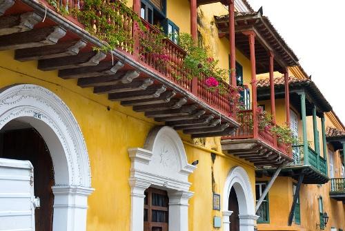 Die Altstadt Cartagenas