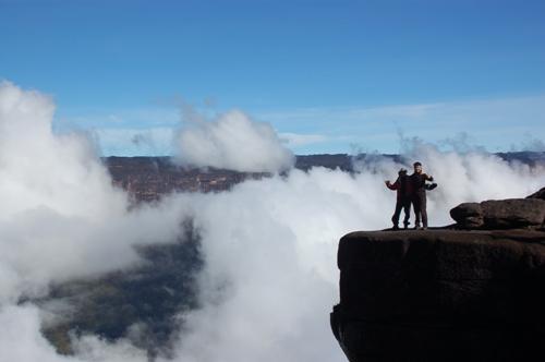 Plateau des Roarima Tafelbergs