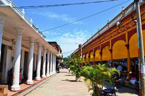 Die Stadt Lorica in Südamerika