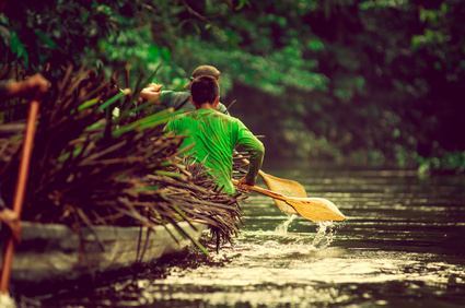 Der Amazonas Nationalpark Amacayacu in Kolumbien