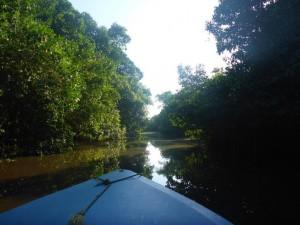 Mit dem Boot auf dem Maracaibosee
