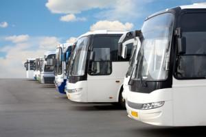 Busse in Kolumbien