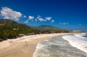 Playa el Agua in Venezuela