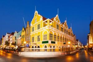 Willemstad in Curacao auf den niederländischen Antillen