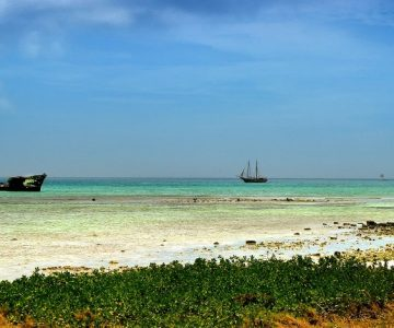 Karibikmeer von Aruba