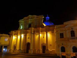 Die kolumbianische Stadt Popoyan