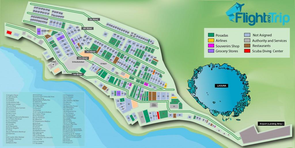 Los-Roques-Karte