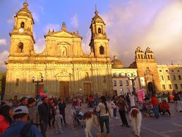 Start des Kolumbien Abenteuer in Bogota