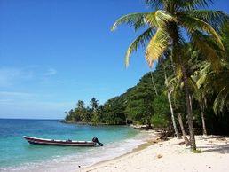 Karibikstrand in Kolumbien