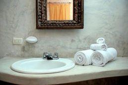 Waschmöglichkeiten der Posada Mediterraneo