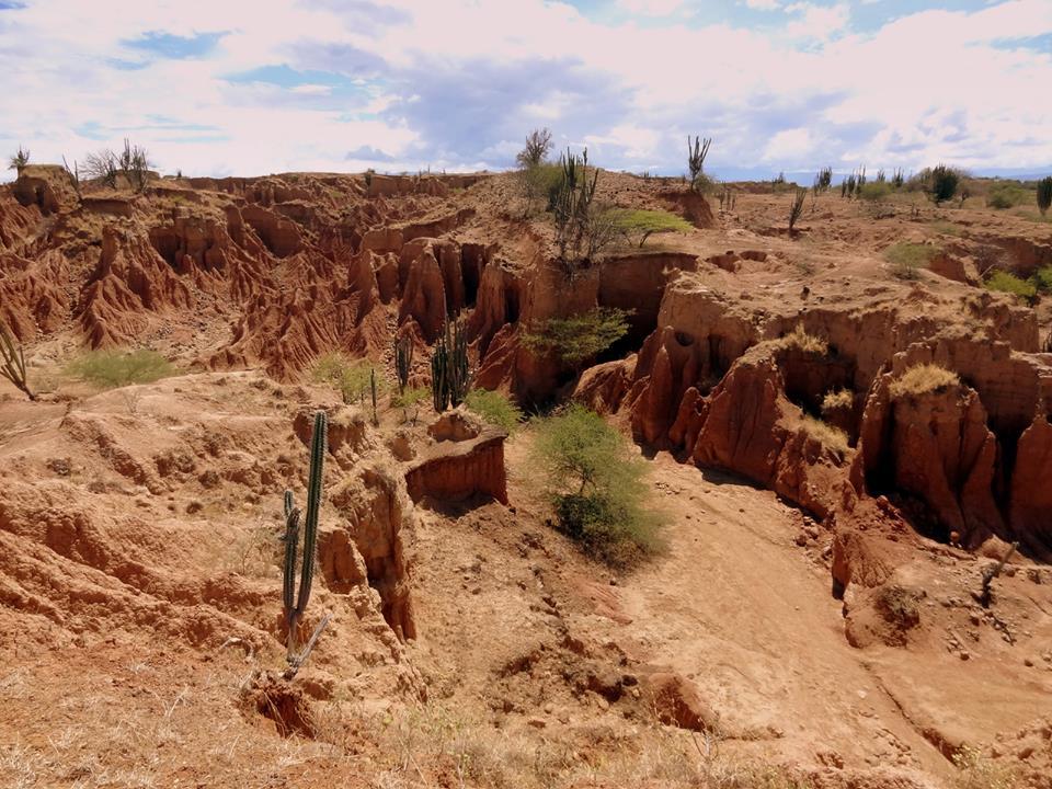 Die Tatacoa Wüste in Kolumbien