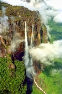 Landschaft am Salto Angel in Canaima