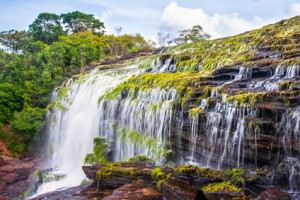 Wasserfall in Venezuela