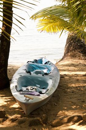 Kayak in Nuqui