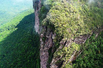 Der Auyan Tepui von oben