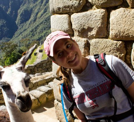 Machu Picchu in Südamerika