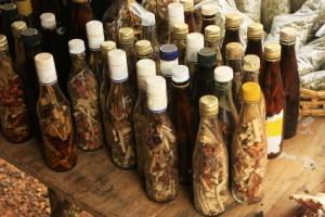 Typisches Alkoholgetränk aus der dominikanischen Republik