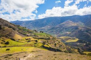 Nationalpark Sierra Nevada in den Anden