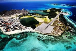 Hauptinsel Gran Roques des Korallenarchipel Los Roques