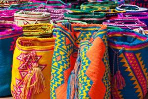 Handgemachte Taschen in Kolumbien