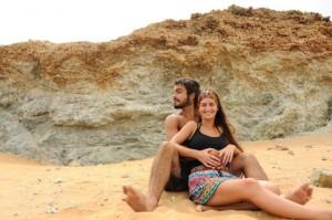 Kolumbianer im Urlaub