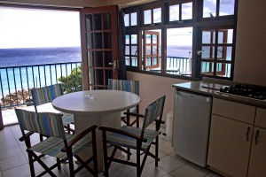 Austattung des appartment in Curacao
