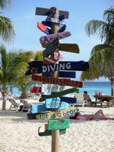 Curacao Hinweis