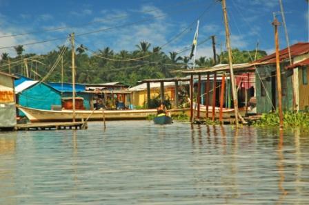Einwohner des Catatumbo Delta