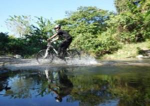 Abenteuer mit dem Mounatinbike