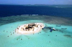 Die Isla Paraiso im Norden der dominikanischen Republik
