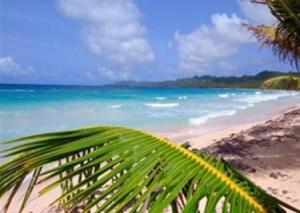 Strand an der Karibikküste