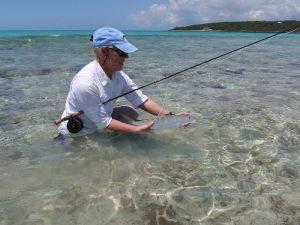 Fliegenfischer in der Karibik
