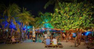 Curacao bei Nacht