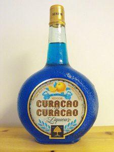 Flasche Blue Curacao