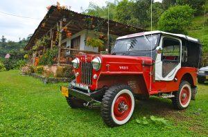 Willy Jeep in Kolumbien
